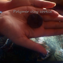 Polymer clay cookie