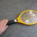 Easy high voltage fly swatter mod