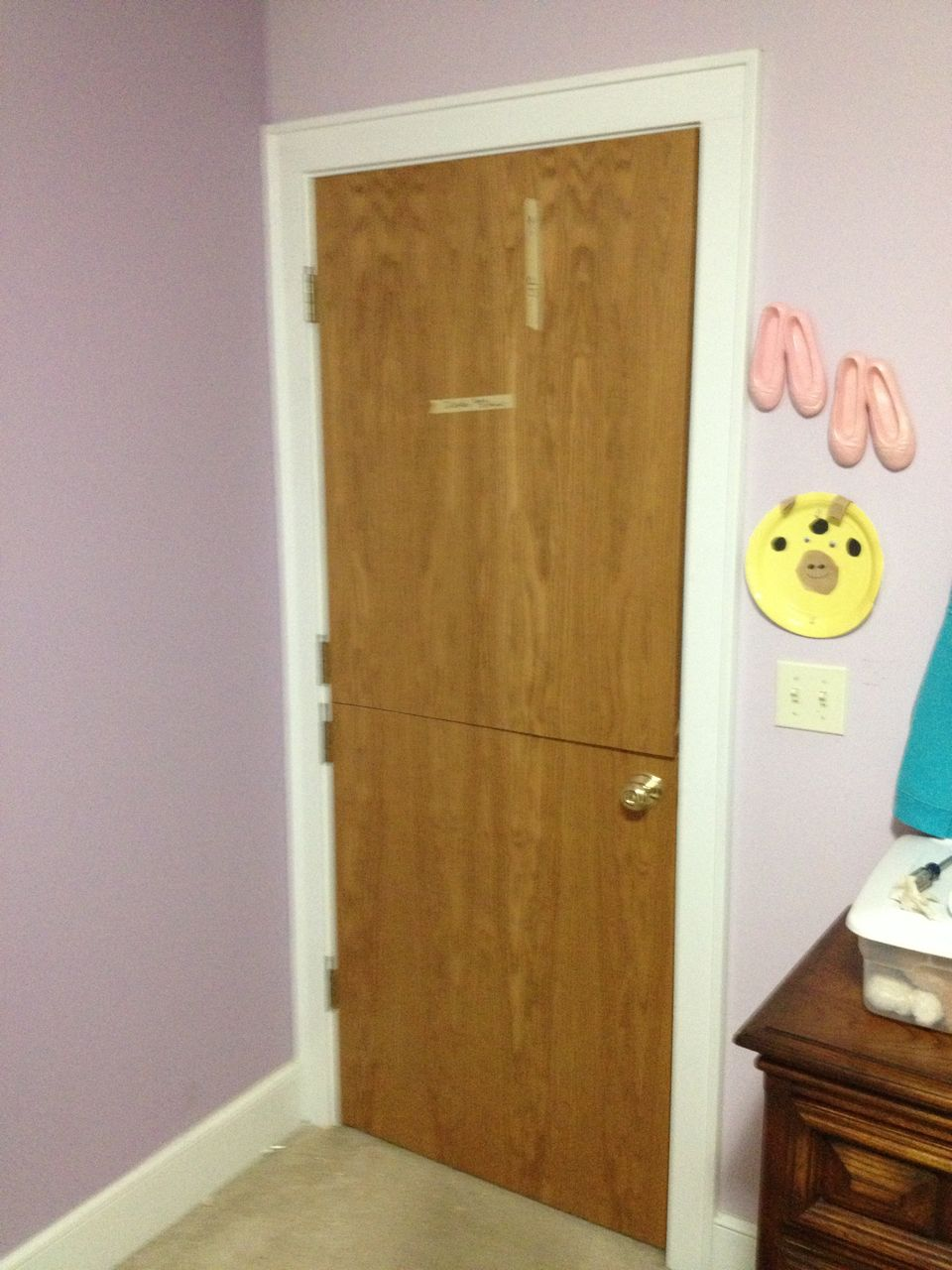 Picture of Mount Door, Knob, and Test