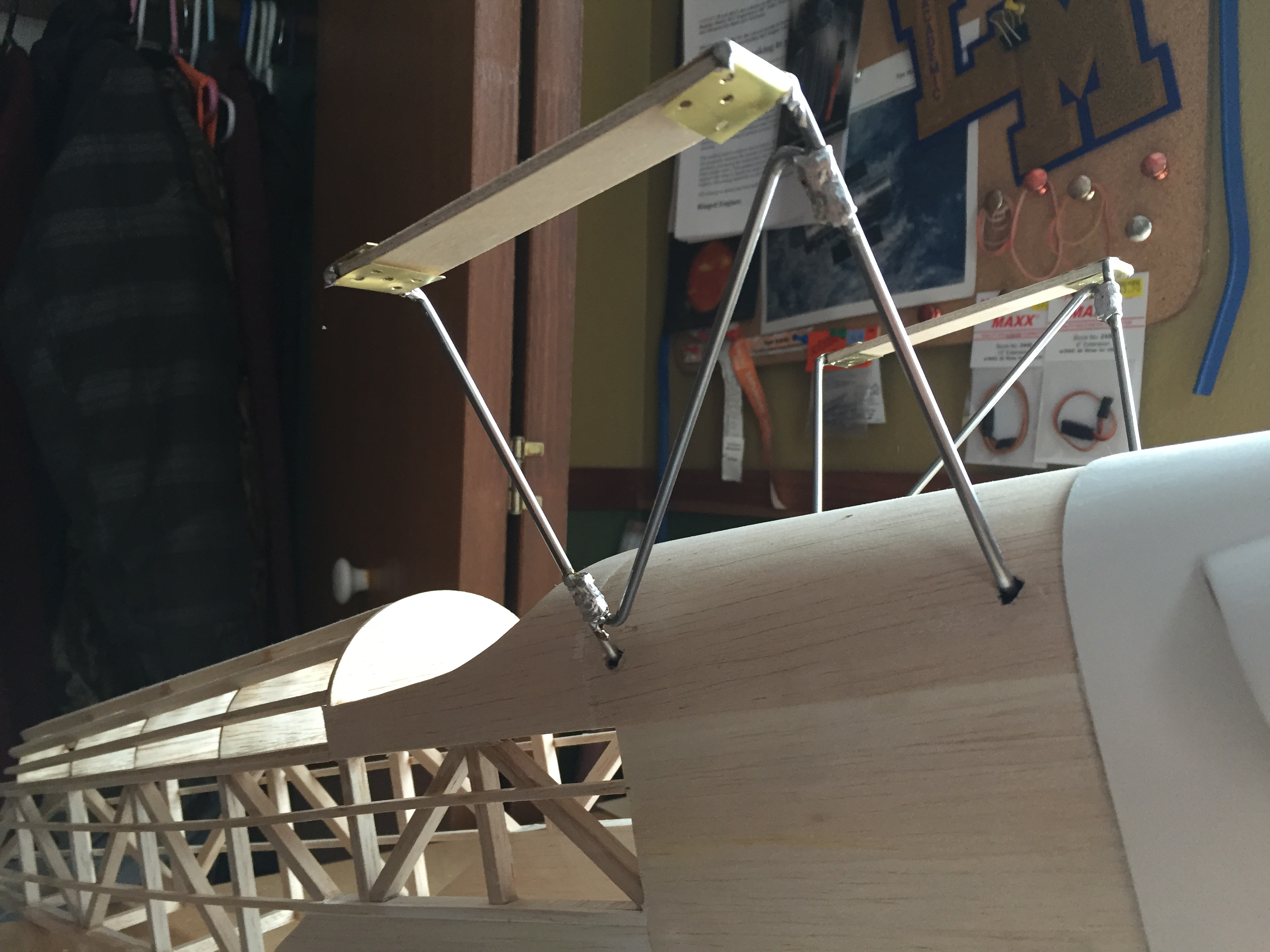 Picture of Fabricate the Top Wing Mount