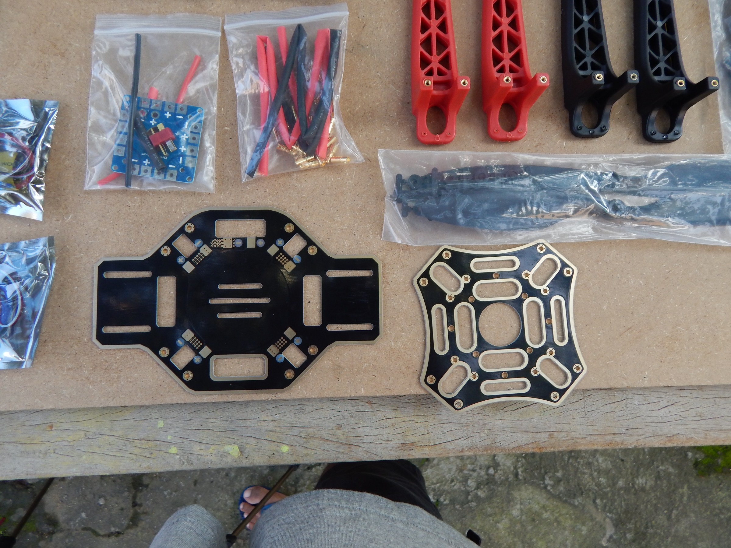 Picture of F450 Quadcopter Parts