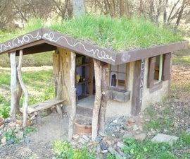 Naturally Cool Cob Playhouse
