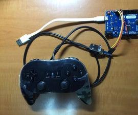 USB Wii Gamepad using Arduino Leonardo