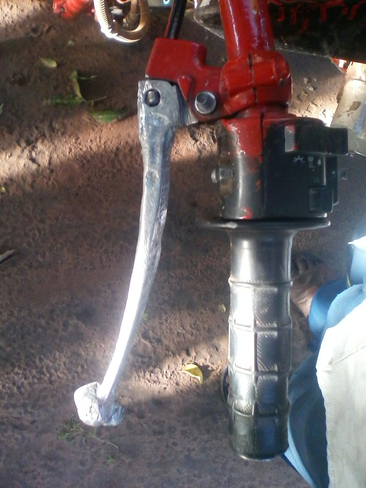 Picture of Casting Motorcycle Clutch and Brake Lever