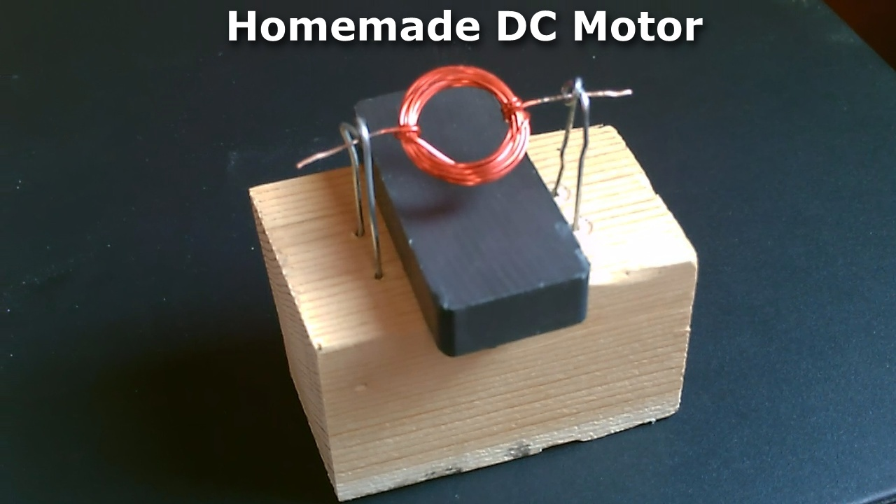 Picture of Homemade DC Motor! - How to Make a Simple DC Motor! - Simple DIY Project (full Instr.)