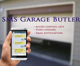 Raspberry Pi - SMS Garage Door Butler