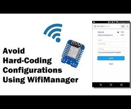 Managing Configurations on Your ESP8266 Using WiFiManager