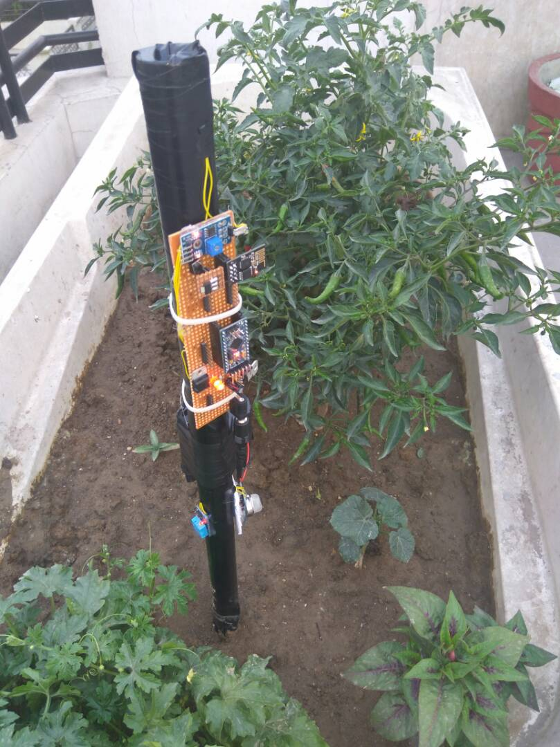 Picture of IoT Based Smart Farming Stick Using Arduino and Cloud Computing