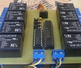 I2C Relay Board