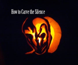 How to carve the Silence on a pumpkin (Doctor Who tutorial)