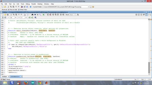 Coding Under Pushbutton2
