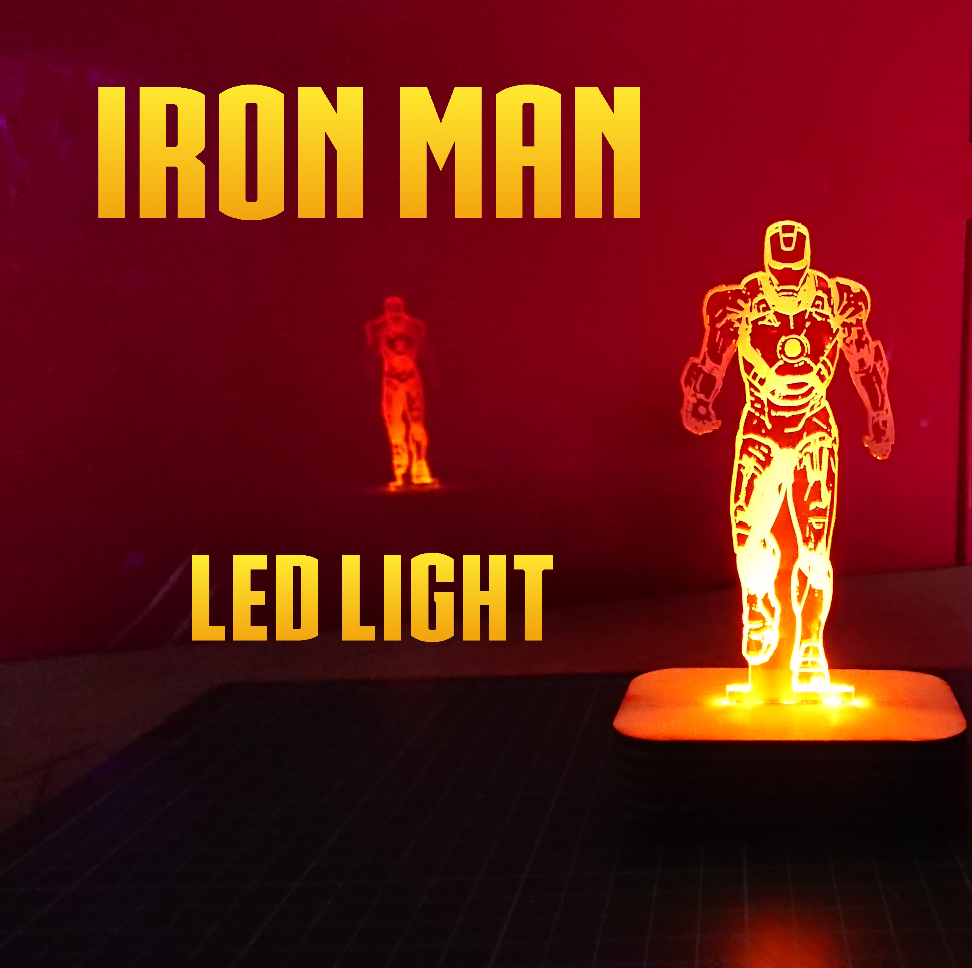 Picture of Iron Man Led Light