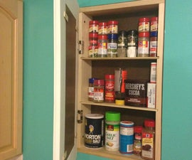 Build a recessed storage cabinet