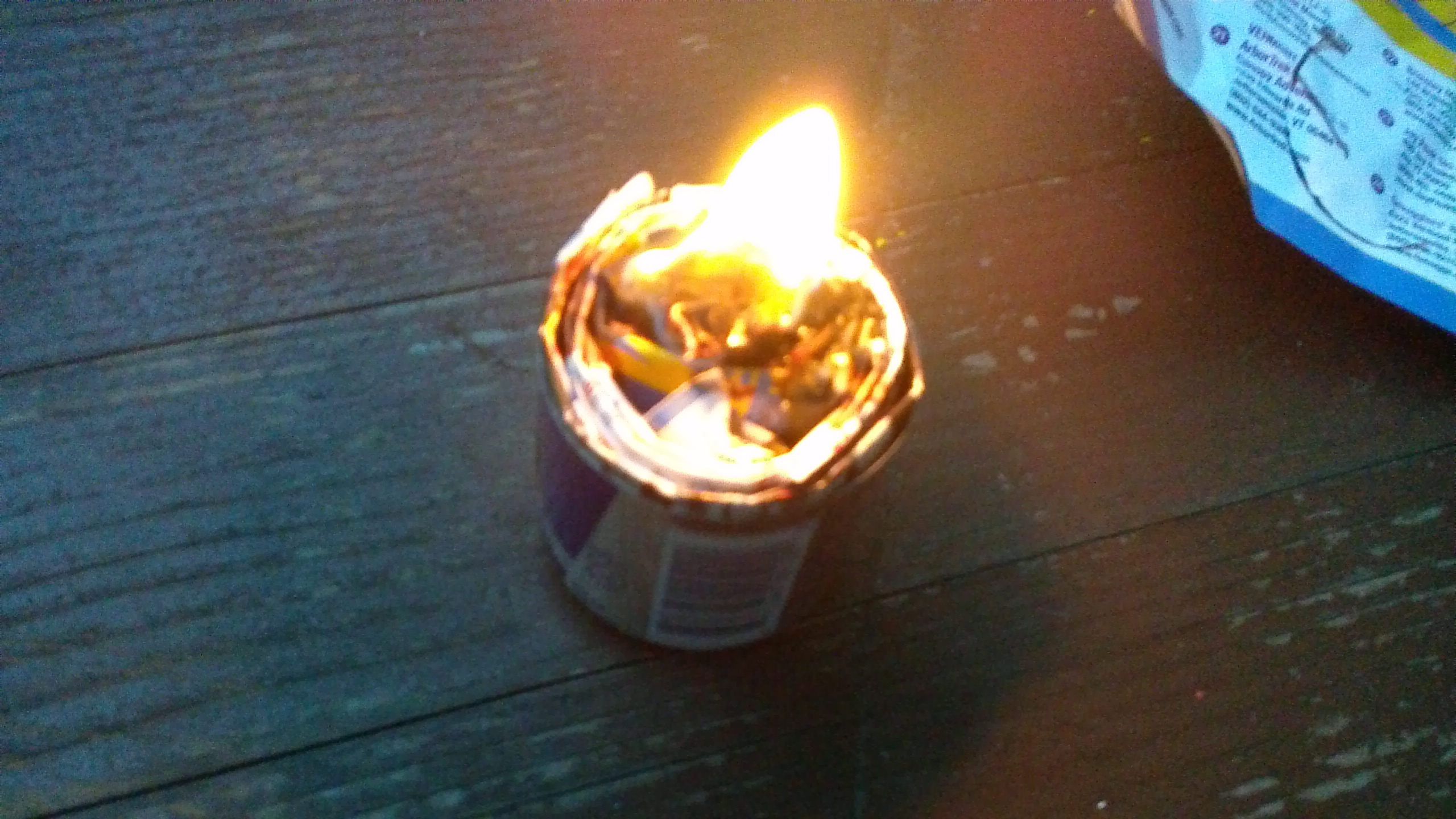 Picture of How to Make a Outdoor Candle or Fire Starter