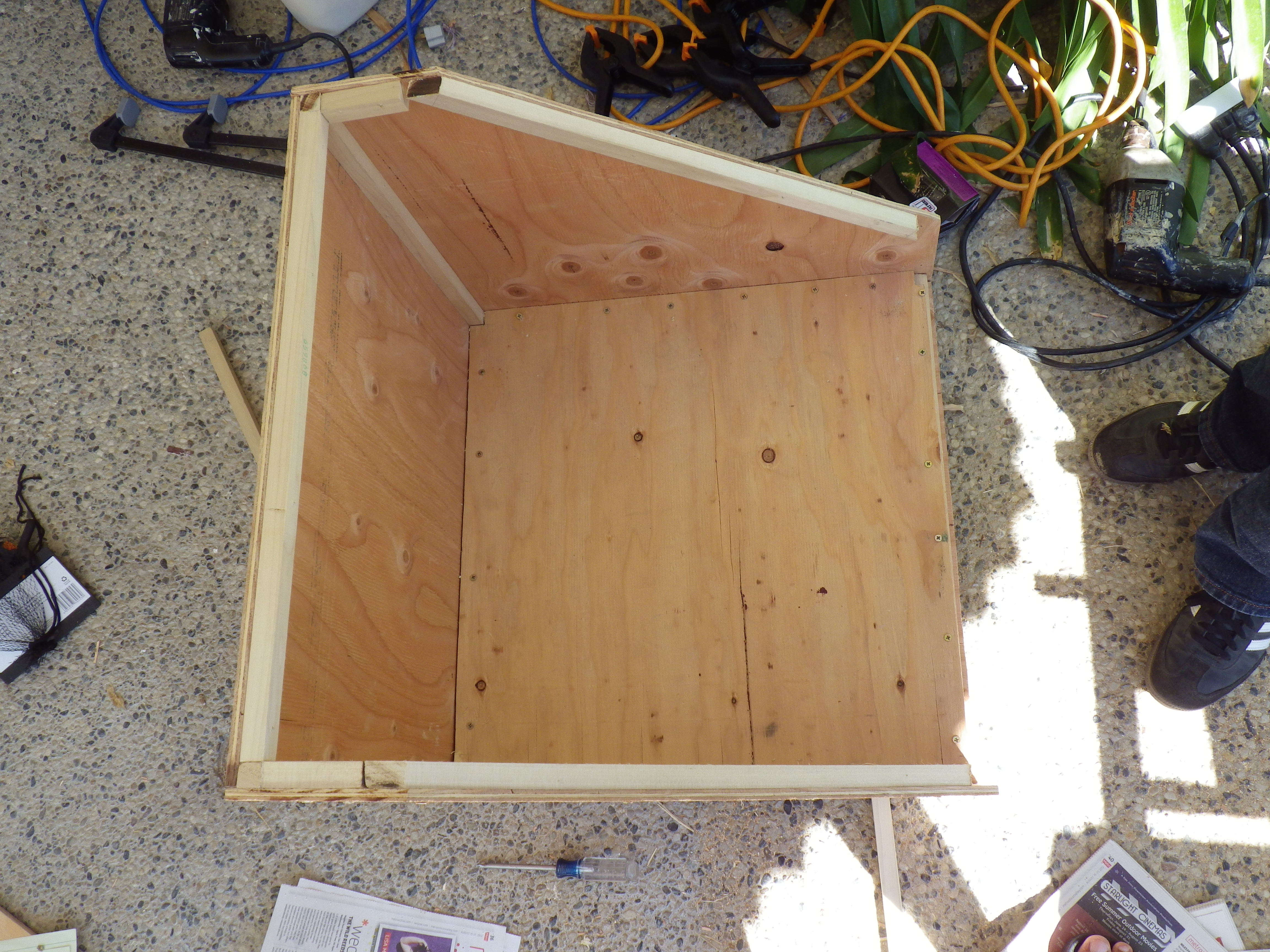 Picture of Adding the Inner Box Bottom Piece