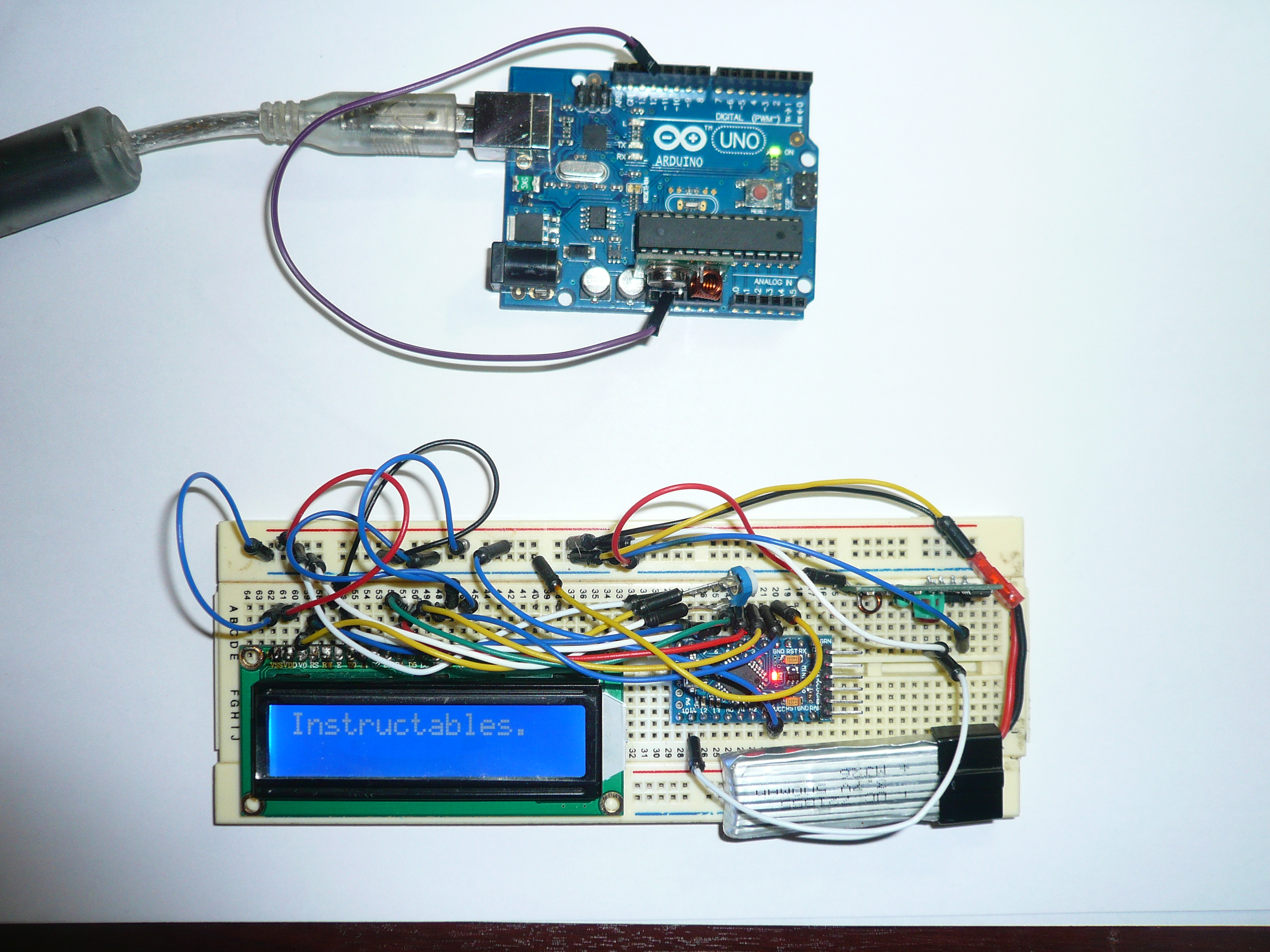 Wireless Communication Arduino RF: 7 Steps