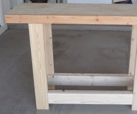 Build A Portable Workbench Any Size You Want