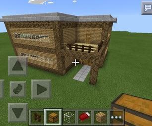 Minecraft PE Mansion 2