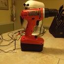 Fix a broken power plug on a cordless drill