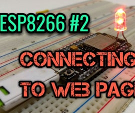 ESP8266-NODEMCU $3 WiFi Module #2 - Wireless Pins Controlling Through WEB PAGE