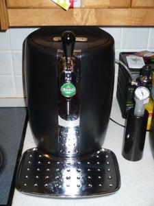 Krups Beerteender Conversion