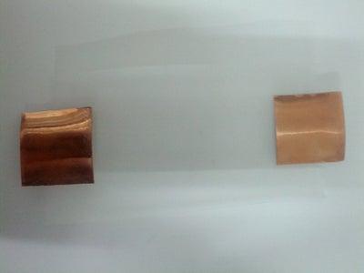 Step 2:  Ze Copper Tape