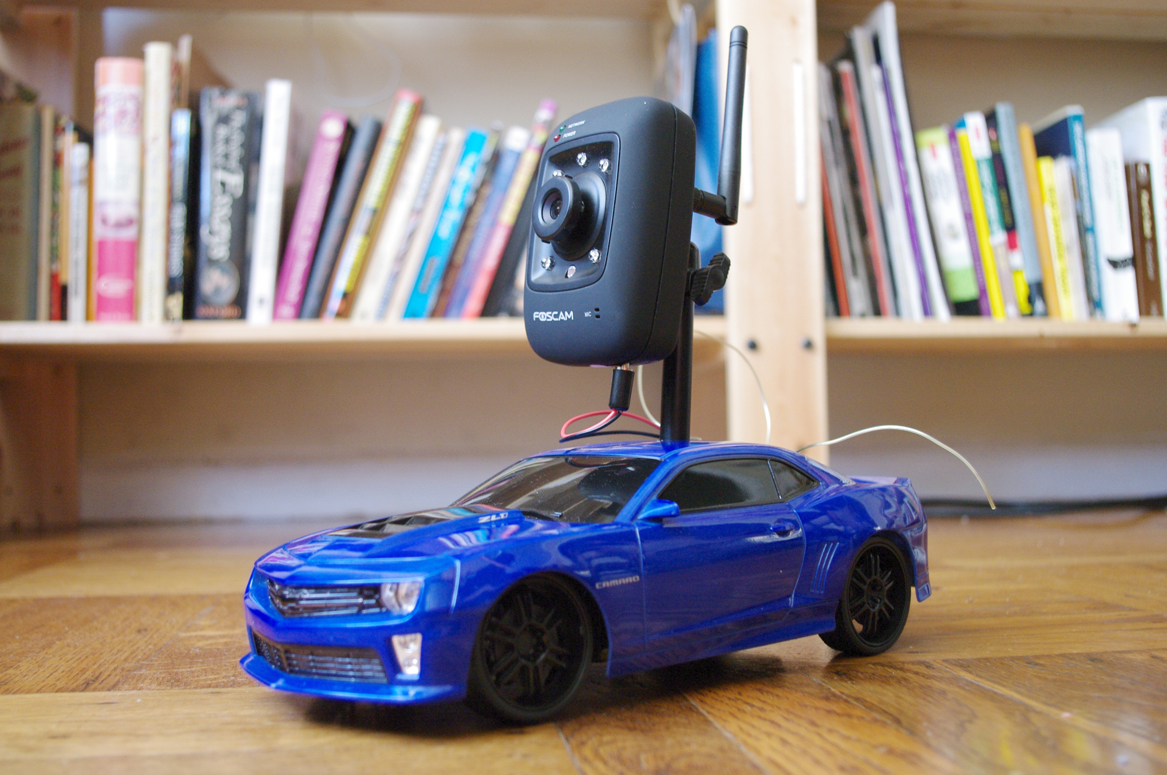 Picture of Internet-Controlled RC Car