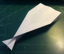 How To Make The AstroDagger Paper Airplane