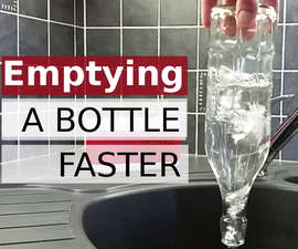 Emptying a bottle faster