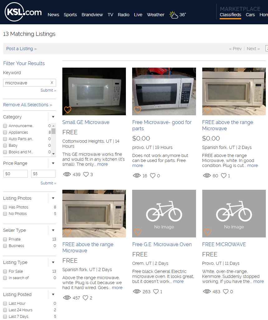 Picture of Get a Microwave