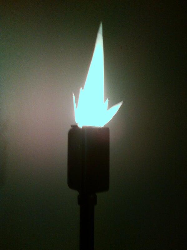 LED Flickering Torch