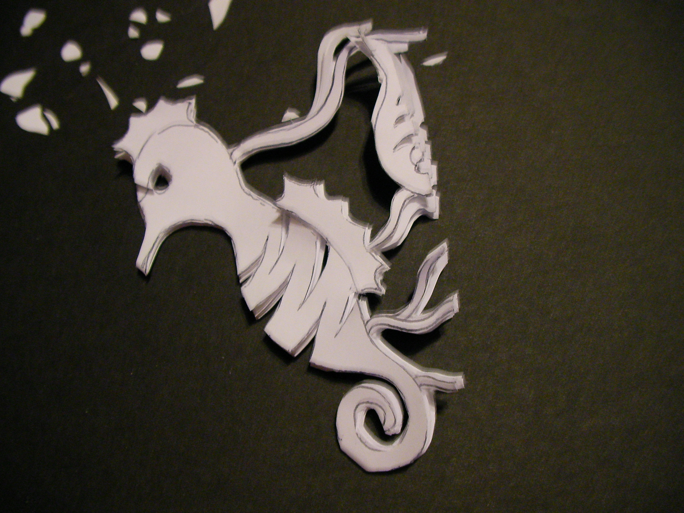Picture of Example: Sea Horse