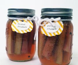 Pickled Rhubarb Recipe