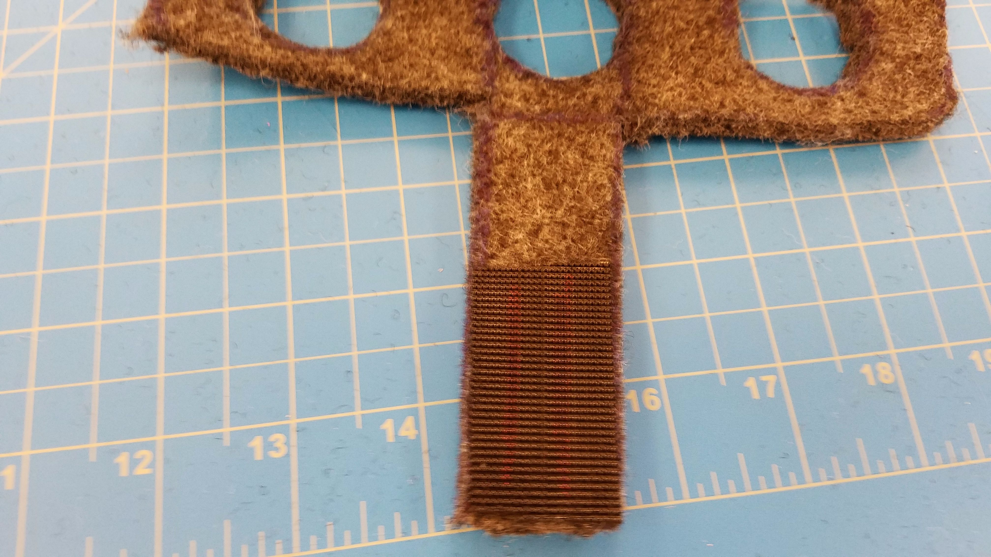 Picture of Cut Velcro to Size, and Stick to Felt.