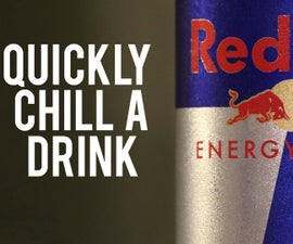 How to Quickly Chill a Drink in 2 Minutes
