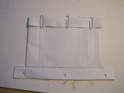 Notebook Paper Pencil Pouch
