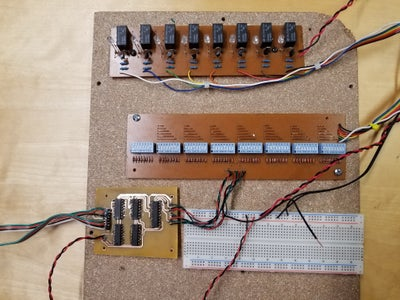 Programmable True Bypass Guitar Effect Looper Station Using Dip Switches