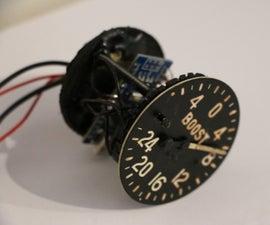 Lancaster Bomber Boost Gauge - Arduino Project
