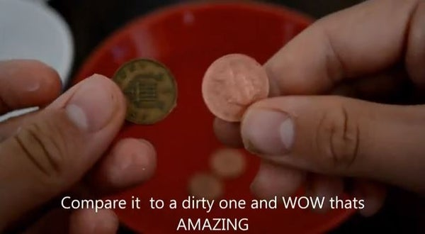 How to Clean Pennies 1 Easy Trick