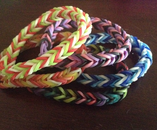 Rainbow Loom Fishtail Pattern