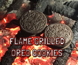 Flame Grilled Oreo Cookies - S'Mores Are Gonna Hate This One.
