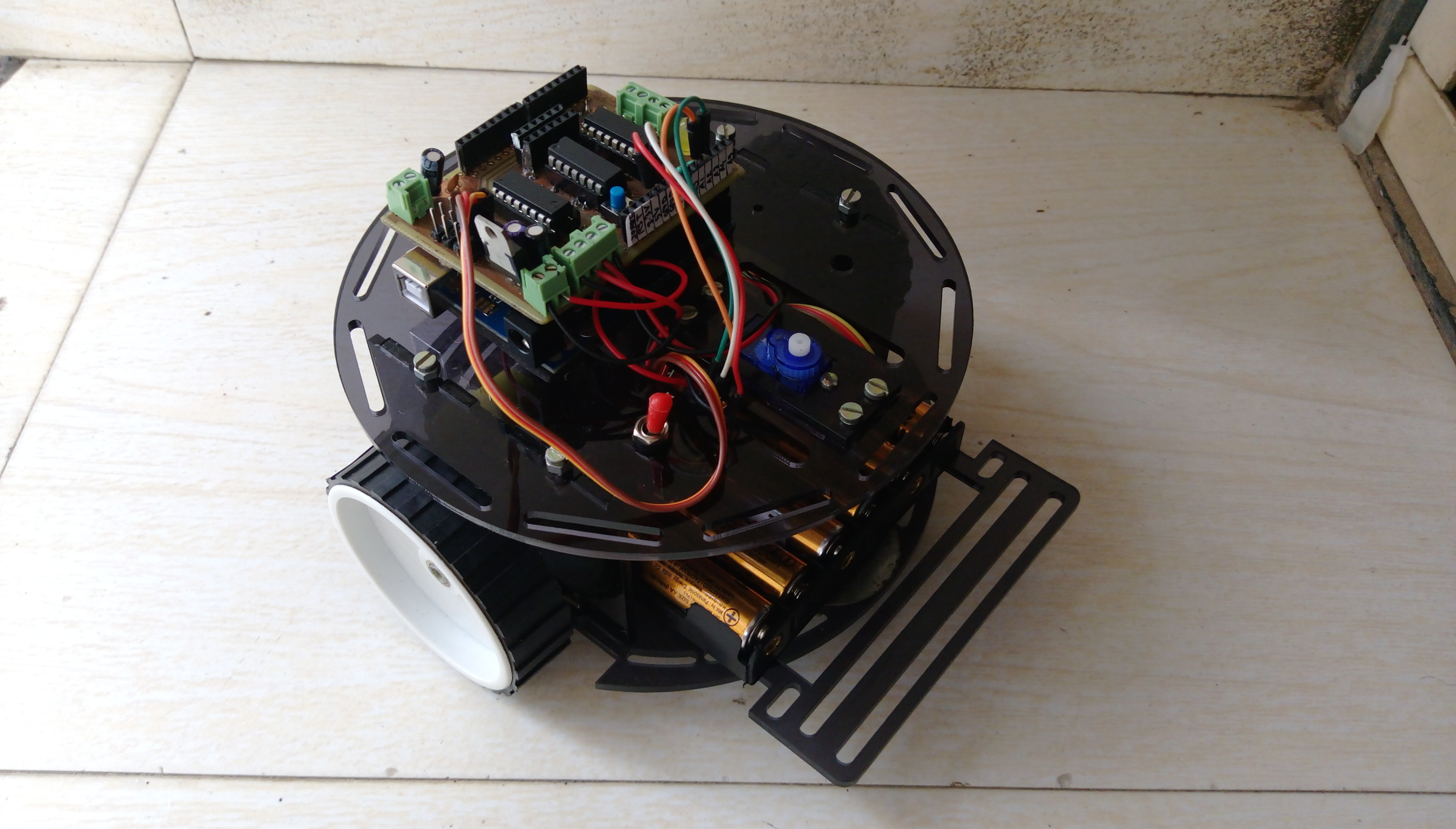 Picture of DIY Multi-Purpose Robot Base and Motor Shield