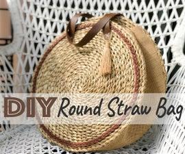DIY Straw Bag