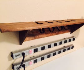 Wall-Mounted Charging Station