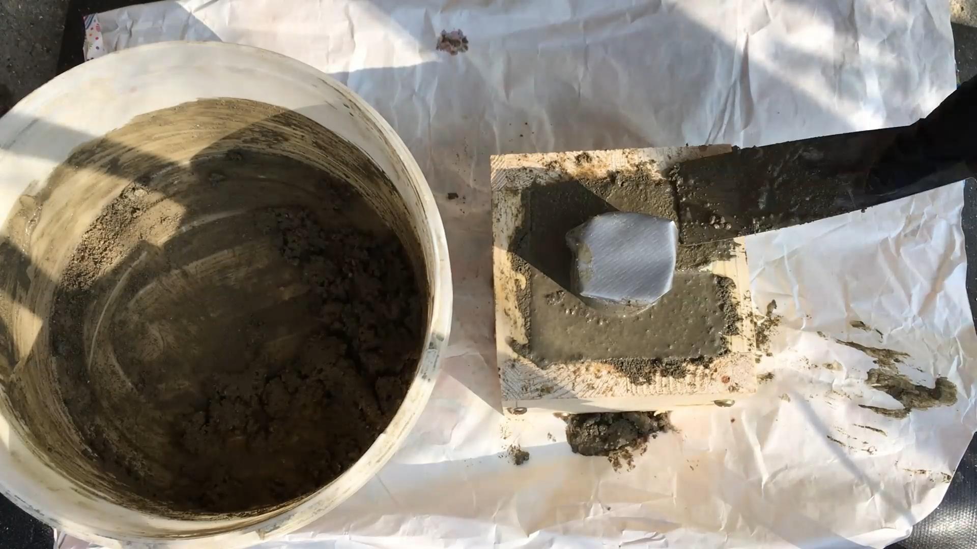 Picture of Adding Concrete