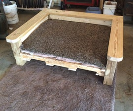 Turning An Old Pallet Into A Dog Bed