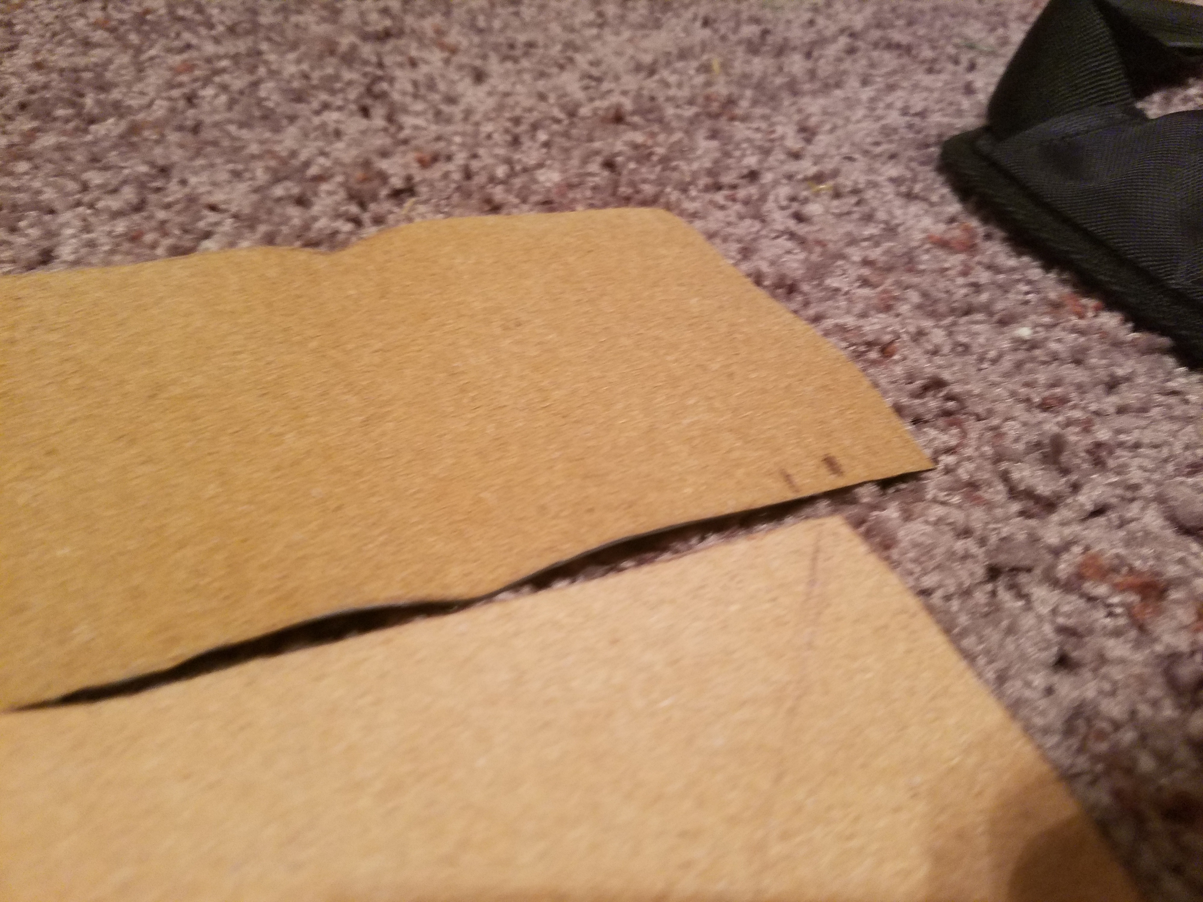 Picture of Cutting the Edges ( Reference Layer/Vinyl Layer )