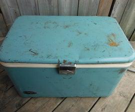 Restoring a Vintage Cooler