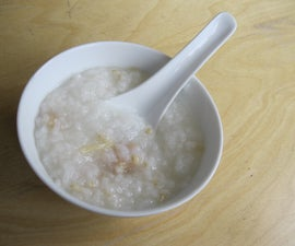 Dried Scallop Congee
