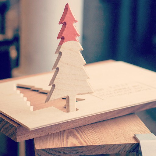 Picture of Paint Dipped Christmas Tree
